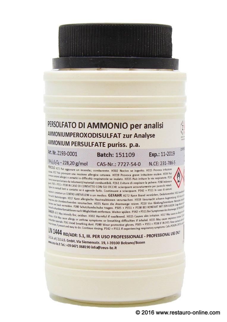 Ammonium Persulfate Puriss. P.a. (APS, (NH4)2S2O8)