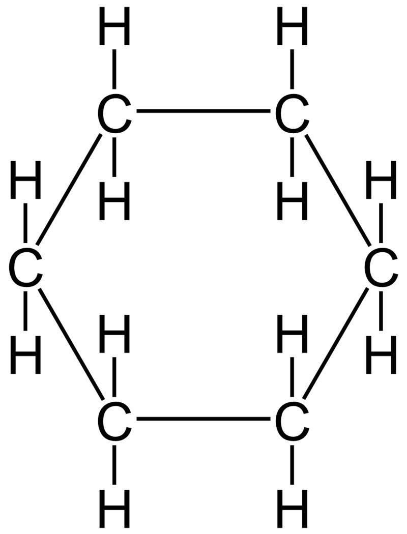 Cyclobutane And Cyclohexane Ring